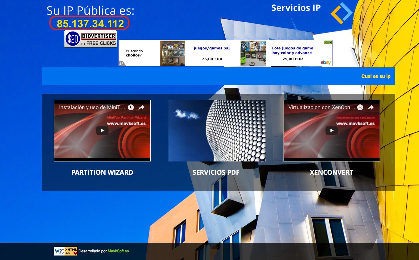 Web conoce-tu-ip.com