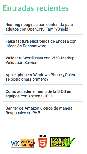 Captura W3C Validador 2