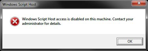 Mensaje script desactivado